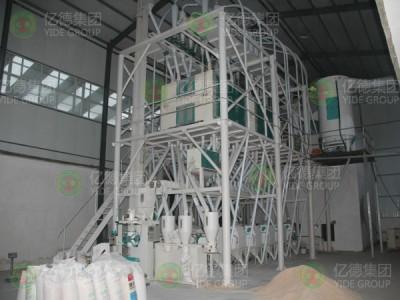 60吨级面粉机成套设备