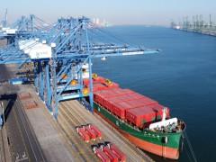 天津港自动化码头建设取得重要进展
